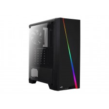 Datora korpuss AEROCOOL AEROPGSCYLON-BK PC case ATX without PSU Aerocool CYLON RGB - USB3.0