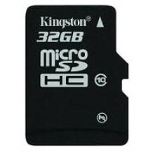 Atmiņas karte KINGSTON 32GB MICROSDHC CLASS10  W/O ADAPTER