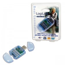 Lasītājs Logilink Cardreader USB 2.0 Stick external for SD/ Micro SD format external