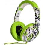 Austiņas iDance Ibiza 202 On-Ear, micr., green