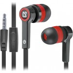 Austiņas DEFENDER Pulse 420 black+red