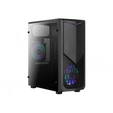 Datora korpuss AEROCOOL AEROPGSTOMAHAWK-3XF PC case ATX without PSU Aerocool TOMAHAWK A - USB3.0 - 2x LED FAN