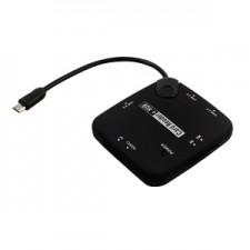 Karšu lasītājs +OTG USB HUB Viedtālrunim+Planšetdatoram