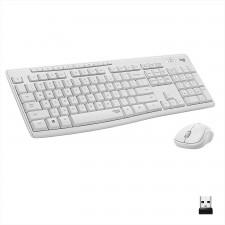 Klaviatūra WRL LOGITECH MK295 + pele white