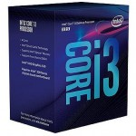 Procesors Intel Core I3-8100 3.60GHZ Boxed CPU