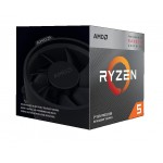 Procesors AMD Ryzen 5 2600X, 3.6 GHz, AM4, Processor threads 12, Packing Retail, Cooler included, Processor cores 6, Component for PC