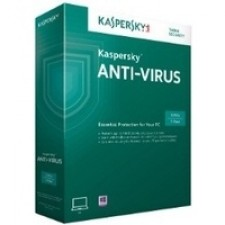 Kaspersky Anti-Virus 2-desktop 1 year Base