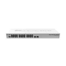 Routers MikroTik Cloud Router Switch CRS326-24G-2S+RM - Switch - L3 - Managed - 24 x 10/100/1000 (PoE) + 2 x SFP+ - rack-mountable - PoE