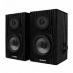 Skandas SVEN SPS-575 2.0 USB black power output 2x3W RMS