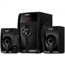 Skandas bluetooth SVEN MS-307 2.1 FM USB/SD LED Display, RC unit, poer output 40W (20=2=10) black