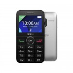 "Mobīlais telefons ALCATEL 2008G Black/Metal Silver 2.4"" TFT"