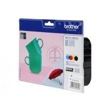 Tinte BROTHER LC-227XLVALBPDR 4 krāsu komplekts 1200lpp  (DCP-4120)