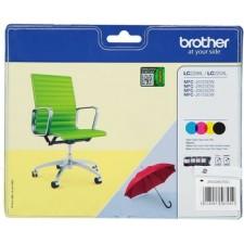Tinte BROTHER LC-229XLVALBPDR 4 krāsu komplekts 1x2400lpp+3x1200lpp