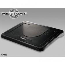 """Paliktnis portatīvajam datoram ar ventilatoru Enermax Twisterlow 17"""", 1x250mm, black"""