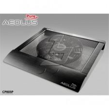"""Paliktnis portatīvajam datoram ar ventilatoru  Enermax Aeolus Pure 17"""", 1x250mm, black"""
