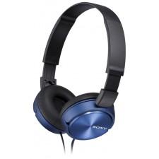 Austiņas SONY MDR-ZX310 zilas