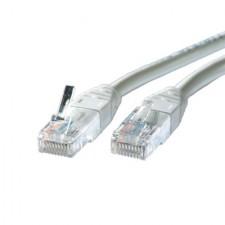 Tīkla kabelis UTP kat.5e ,vītais,mīkstais,pelēks,10m