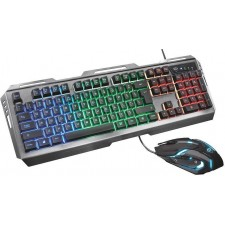Klaviatūra gaming TRUST GTX 845 TURAL+pele