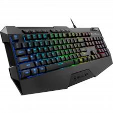 Klaviatūra gaming SKILLER SGK4 LED light USB ENG Sharkoon black