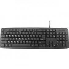 Klaviatūra GEMBIRD USB RUS KB-U-103-ENG black