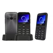 Mobilais telefons ALCATEL 2019G Melns/Sudraba